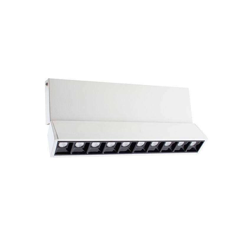 Foco carril LINEAL 275 RAIL, chip Philips-TUV, 15W